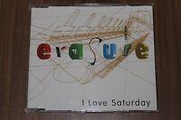Erasure - I Love Saturday (Remixes) (1994) (MCD) (Int 826.641, Lcd Mute 166)