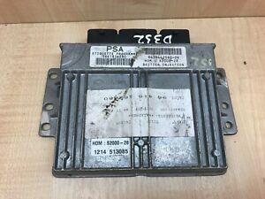 Peugeot 307 ECU UNIT 9641816280, 9638442580-04 PSA Computer S2000-28 ENGINE