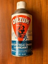 Oilzum  Motorcycle Chain Lube 10oz can NOS HARLEY KNUCKLEHEAD PANHEAD