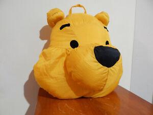 Disney Winnie the Pooh Head/Face Puffalump Hanging Pillow Plush KINGDOM HEARTS
