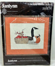 Janlynn Counted Cross Stitch Kit Harvest Time 59-18 Canada Goose NEW Needlecraft