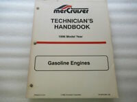 Mercruiser 1996 Model Year Gasoline Engines OEM Service Manual P/N 90-806535960