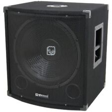 QTX son qt15s 15 CAISSON DE BASSES DISCO DJ PASSIF pa bin qt15 S Sub simple