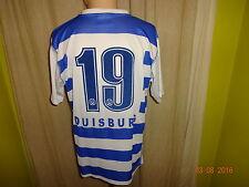 """MSV Duisburg Original uhlsport Heim Trikot 2004/05 """"ICELINE"""" + Nr.19 Gr.M- L"""