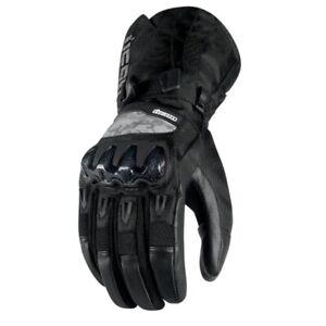 Icon Patrol Waterproof Motorcycle Gloves Black 2XL