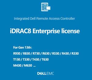 iDRAC8 Enterprise License iDRAC R730 R730XD R630 R530 R430 R330 R230 T630 T430