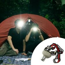 ✔ UK CREE Q5 5W LED Super Power Zoom Flashlight Head Lamp Torch Light Headlamp