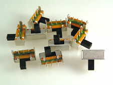 Mini Interruptor Deslizante en ángulo recto de montaje de PCB SPDT 5 piezas OM0559A