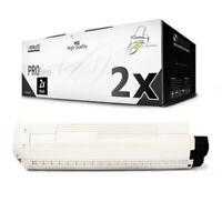 2x MWT Pro Toner Nero Per OKI C-830-CDTN C-810-DN C-830-DN C-810-CDTN C-810-N
