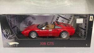 Hotwheels Elite 1/18 Ferrari 308 GTS Magnum P.I. Rare!!!