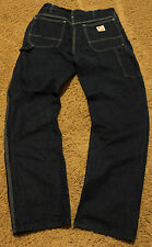 Mens THE HOME DEPOT Brand Carpenter Workwear Blue Jeans 34x32 ~ 31x32