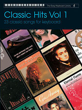 Easy Keyboard Library Classic Hits Volume 1 BEGINNER Learn Play FABER Music BOOK