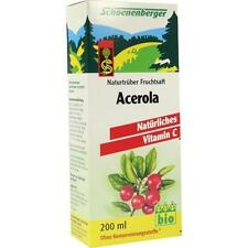 ACEROLA SAFT Schoenenberger 200ml PZN 692021