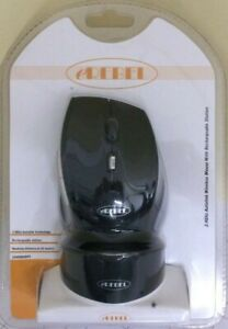 BRAND NEW CHEAP WIRELESS FAST 2.4GHZ MOUSE WITH RECHARGEABLE STATION SEALED