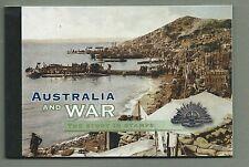 AUSTRALIA 2005 Prestige Booklet - AUSTRALIA and WAR - Complete - MNH stamps