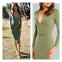 BARDOT Womens Size S / M (or 10 ) Ali Long Sleeves Dress NEW + TAGS