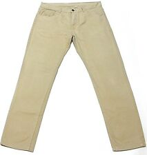 "RedZone Men Sand Colour Relax Fit Casual Chinos Trouser Waist 36"" Inside Leg 32"""
