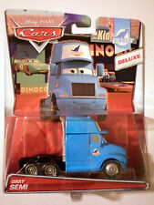 CARS - GRAY SEMI KING Deluxe - Mattel Disney Pixar