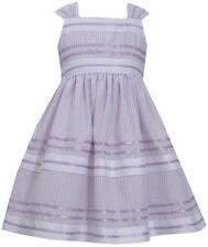 BONNIE JEAN® Little Girls' 4, 5 Lavender Striped Pencil Dress NWT $62