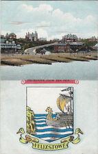 FELIXSTOWE ( Suffolk) : Felixstowe from the Pier + Arms -  CHRISTCHURCH series