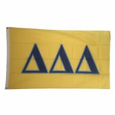 Tri-Delta (Delta Delta Delta) Sorority New Letter Color Flag 3' x 5'