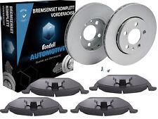 2 Bremsscheiben Ø 256 mm + Bremsbeläge Rondell Vorne Audi Seat Skoda VW