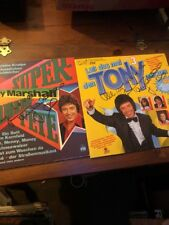 Tony Marshall SIGNED Records Set Of 2