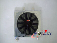 Aluminum SHROUD&FAN for Holden Commodore VB VC VH VK V8 Auto Manual AT/MT 79-86