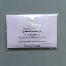 NEW Clinique Pore Minimizer Oil Blotting Sheets - Combination Oily Skin RARE