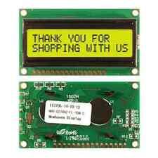 NHD-0216HZ-FL-YBW-C NEW HAVEN DISPLAYS LCD MOD 32DIG 16X2 TRANS YLW/GRN