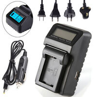 AC/DC/Car LCD Battery Charger For Sony NP-FW50 A7 A7R A7S II RX10 NEX 7 5 A6300