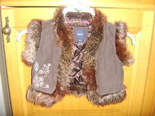 Gap Girls Lined Gilet, Age 6-7 Years, Very Good Condition