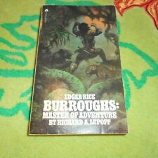 Edgar Rice Burroughs: Master Of Adventure~Richard A Lupoff~Rare $1.25 Cover