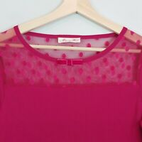 [ ALANNAH HILL ] Womens 'I Turn to you' Stretchy Knit Top | Size AU 14 or US 10