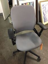 EXECUTIVE CHAIR by STEELCASE LEAP V2 MODEL *FULLY LOADED* GRAY FABRIC