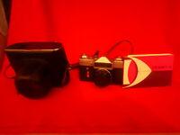 Soviet vintage ussr camera Zenit-E lens industar-50-2 3,5/50 + case