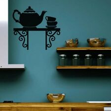 Teapot  Wall Stickers Kitchen Coffee Shop Art Decal Bar Dining Living Room