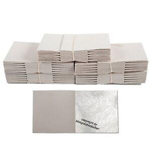 500 Blatt Echtes Blattsilber 5 cm x 5 cm Echtsilber