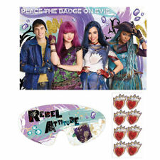 Disney Descendants 2 1x PARTY GAME POSTER Birthday Supplies Decorations Activity