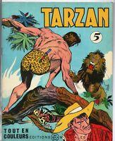 Collection TARZAN n°5. Editions  Mondiales 1963.  HOGARTH. Tout en couleurs