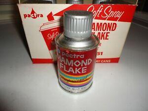 Vintage Pactra Model Spray Paint Case of 6  Paper Label. Silver Mist.