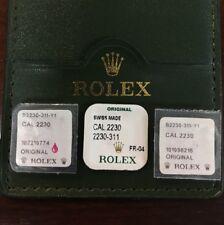 Rolex Original Mainspring 2235 2230 Calibers 179174 179173 179178 178273 178278