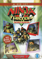 NINJA TURTLES VOLUME 2 - THE NEXT GENERATION  - 6 DVD BOX SET  (KIDS CARTOON)