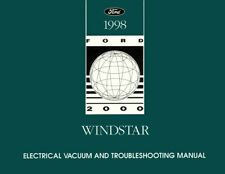 Service Repair Manuals For Ford Windstar For Sale Ebay