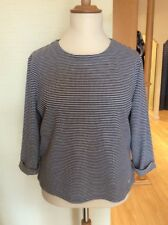 Bianca Top Size 20 BNWT Navy And White Textured Stripes RRP £64.95 Now £29