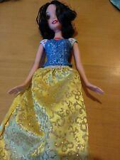 Genuine Mattel Disney Snow White 2012 Doll Painted bodice fabric skirt  #25-124