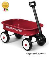 "Radio Flyer 5 Kids' 12.5"" Little Red Toy Wagon"