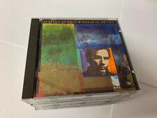 Jackson Browne World In Motion 1989 CD Album MINT/EX 075596083027