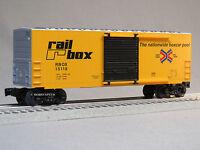 LIONEL PRR RAIL BOX HI CUBE BOXCAR O GAUGE train pennsylvania freight 6-82436-B
