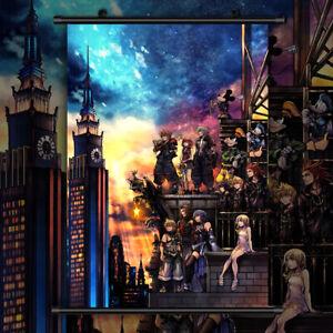 Kingdom Hearts Anime HD Print Wall Poster Scroll Home Decor